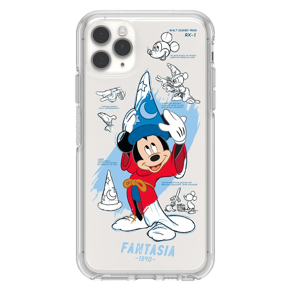 Sorcerer Mickey Mouse iPhone 11 Pro Max Case by OtterBox – Disney Ink & Paint