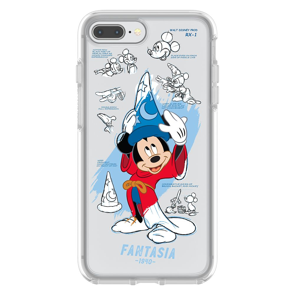 Sorcerer Mickey Mouse iPhone 7 Plus/8 Plus Case by OtterBox –  Disney Ink & Paint