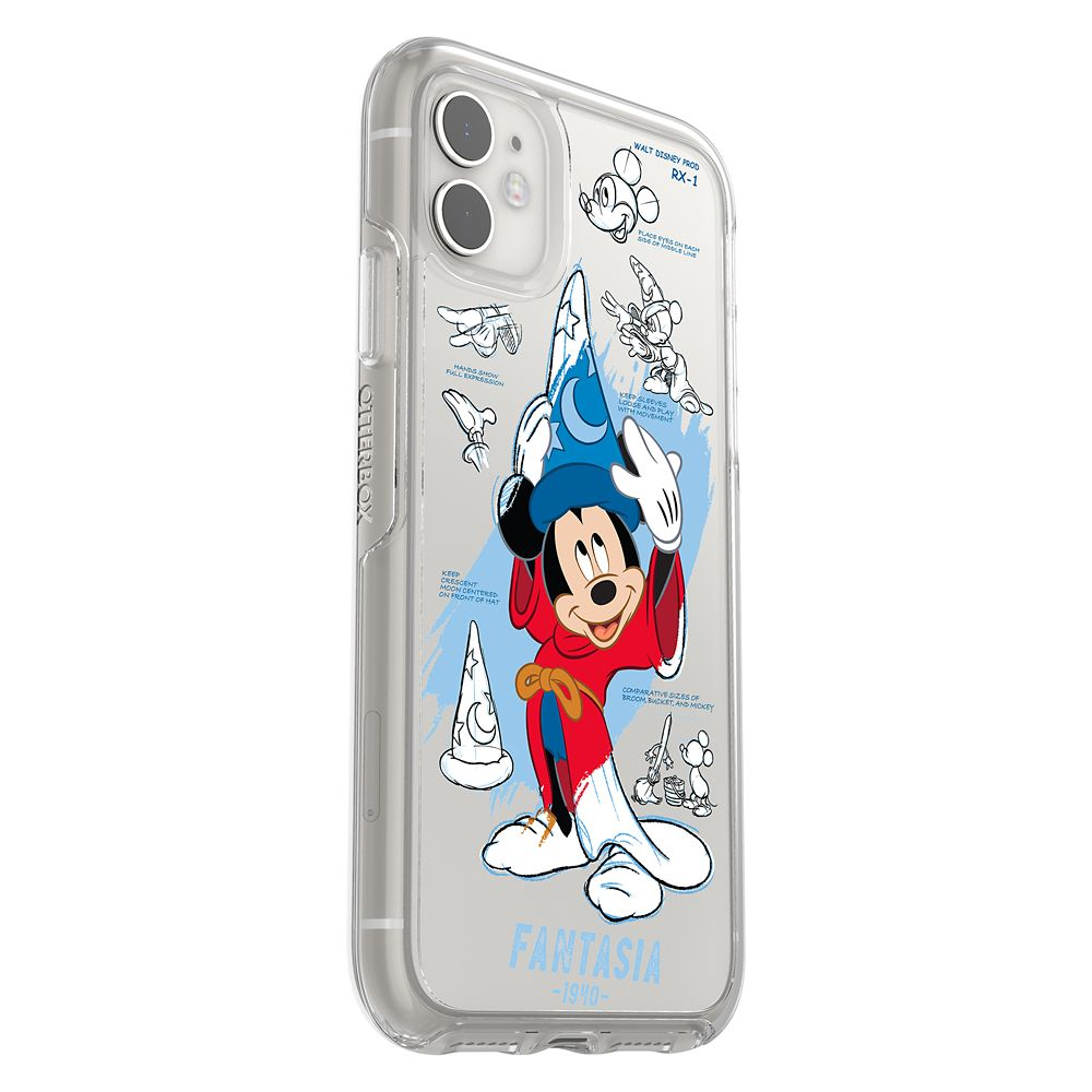 Sorcerer Mickey Mouse iPhone 11/XR Case by OtterBox – Disney Ink & Paint