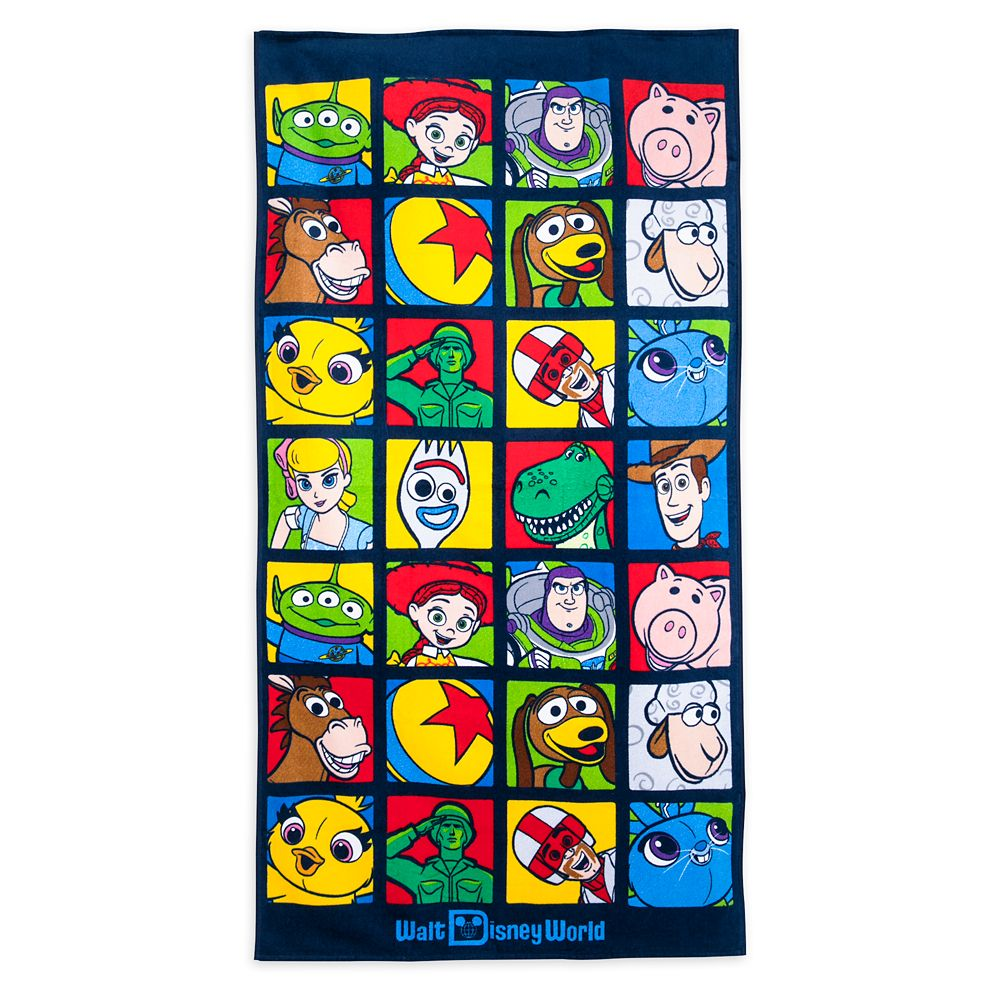 Toy Story Beach Towel – Walt Disney World