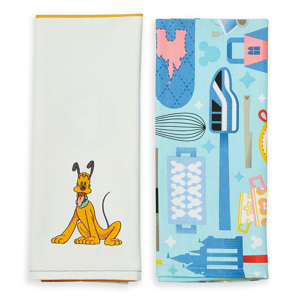 Disney Parks Mousewares Kitchen Towel Set
