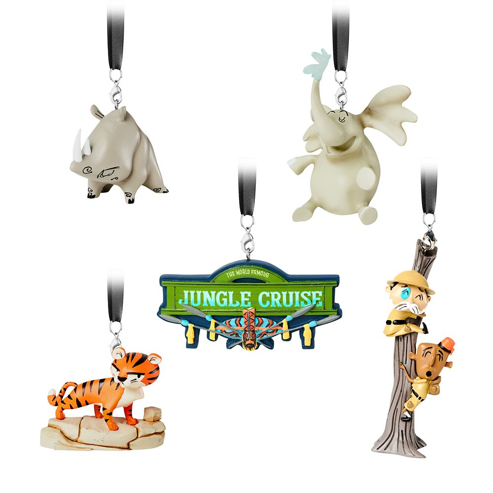 Jungle Cruise Figural Ornament Set