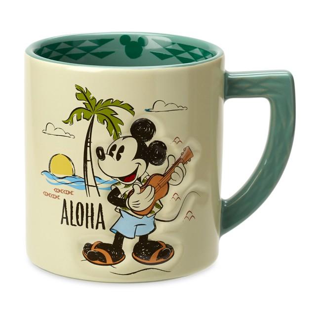 Mickey Mouse ''Aloha'' Mug –Aulani, A Disney Resort & Spa