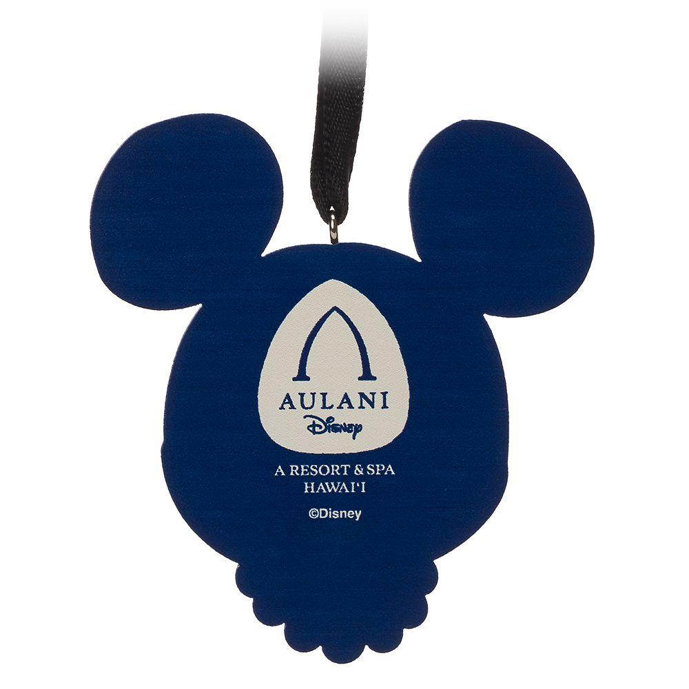 Mickey Mouse Ornament –Aulani, A Disney Resort & Spa