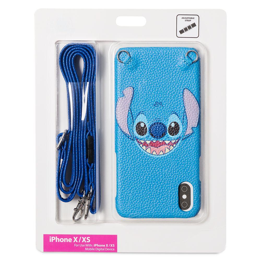 Stitch iPhone X/XS Case with Crossbody Strap