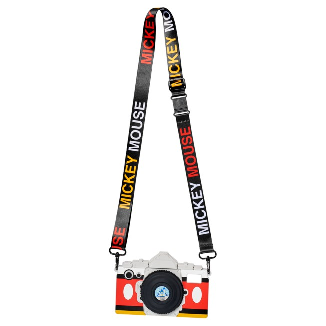 Mickey Mouse Camera iPhone XR Case with Strap