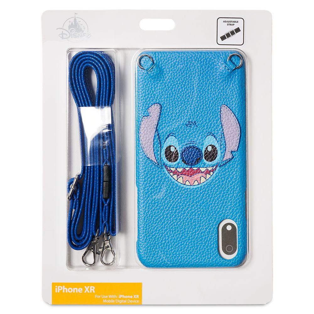 Stitch iPhone XR Case with Crossbody Strap
