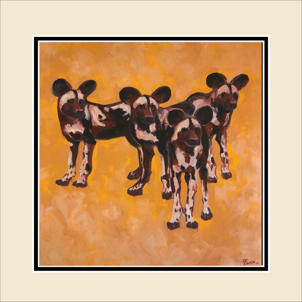 ''Painted Dogs'' Deluxe Print by Disney Imagineer Joe Rohde – Earth Day 2020