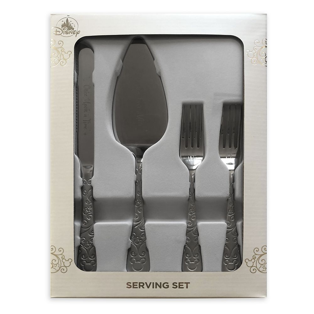 Mickey Mouse Icon Cake Serving Set