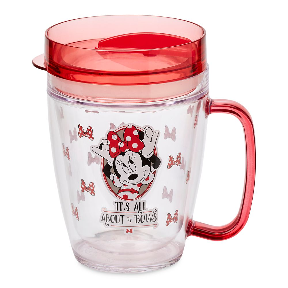 Minnie Mouse Bow Tumbler with Lid
