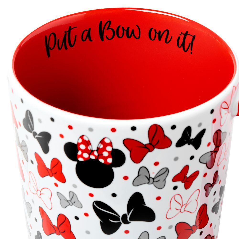 Minnie Mouse Bow Handle Mug
