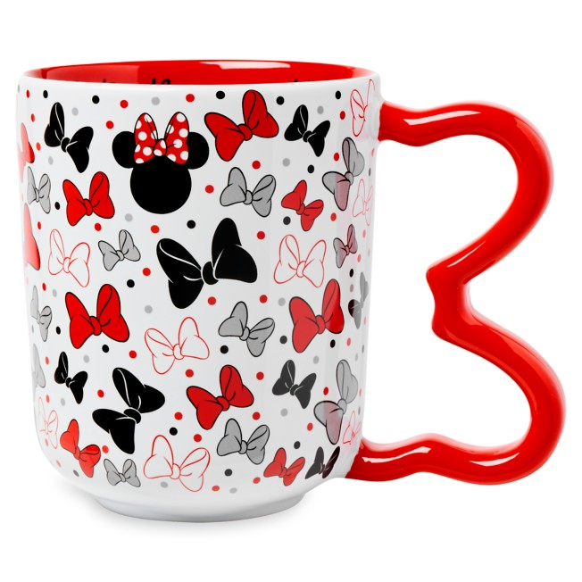Minnie Mouse Bow Handle Mug