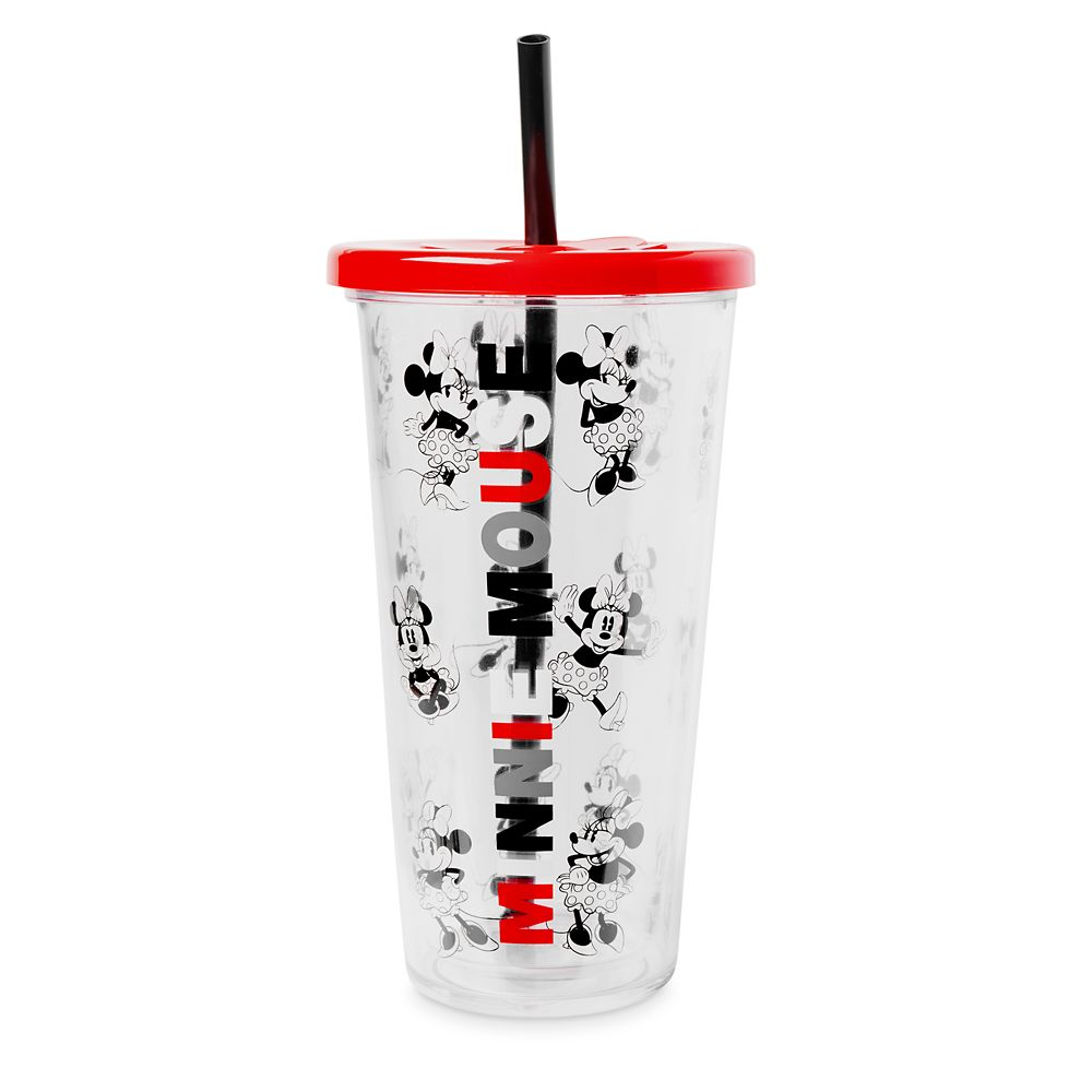 Minnie Mouse Travel Tumbler with Straw