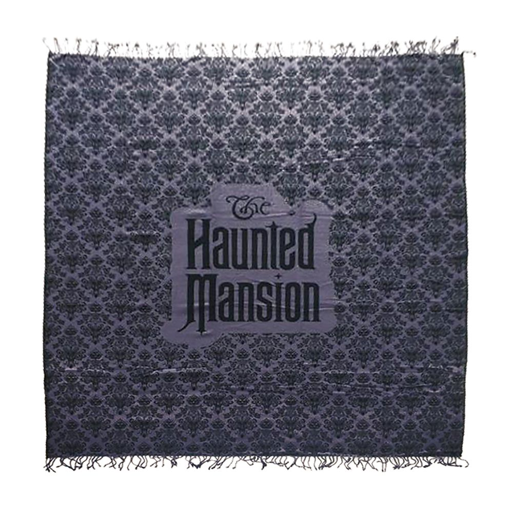 The Haunted Mansion Wallpaper Throw Blanket