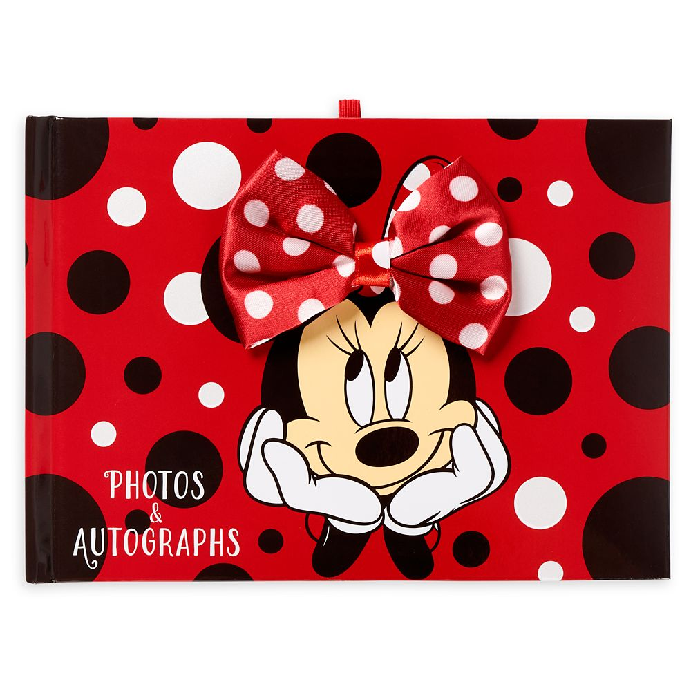 Minnie Mouse Autograph Book Photo Album