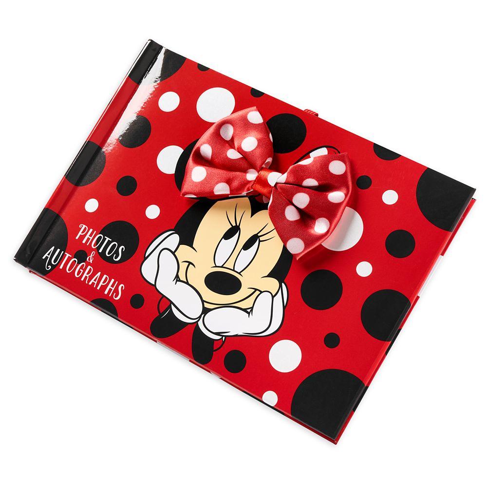 Minnie Mouse Autograph Book Photo Album