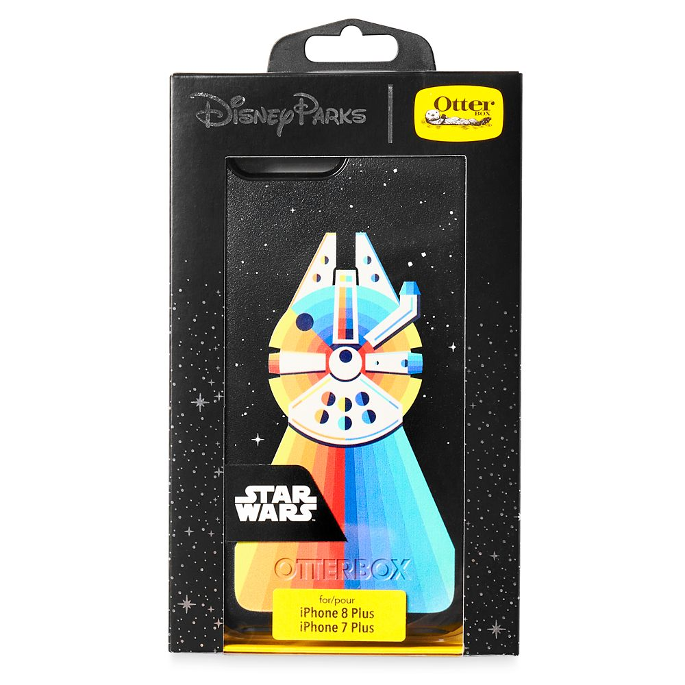 Millennium Falcon Rainbow iPhone 8 Plus/7 Plus Case by OtterBox – Star Wars