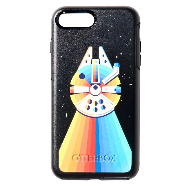 Millennium Falcon Rainbow iPhone 8 Plus/7 Plus Case by OtterBox – Star Wars
