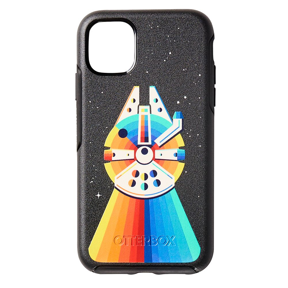 Millennium Falcon Rainbow iPhone 11 Case by OtterBox – Star Wars