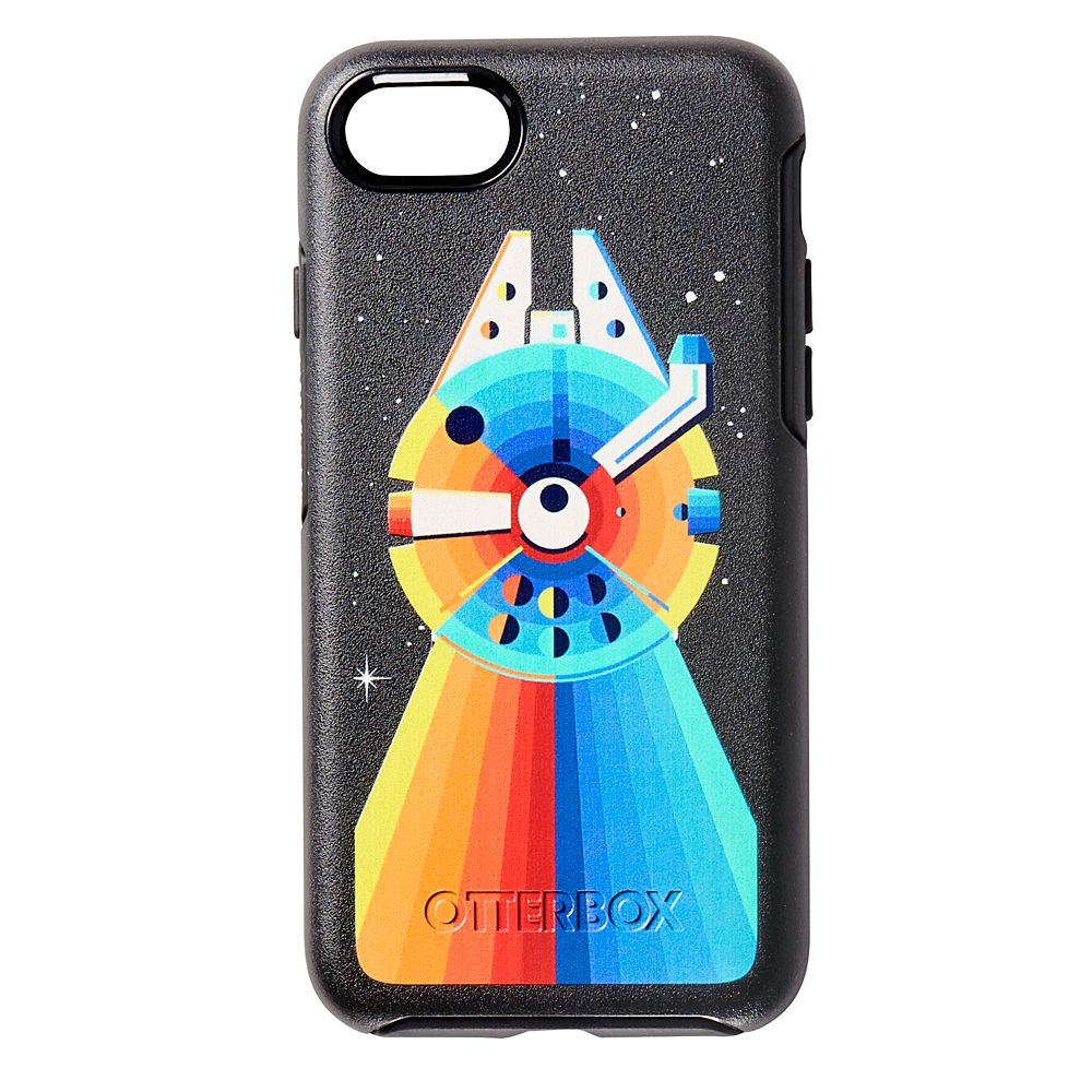 Millennium Falcon Rainbow iPhone 8/7/SE (2nd Generation) Case by OtterBox – Star Wars
