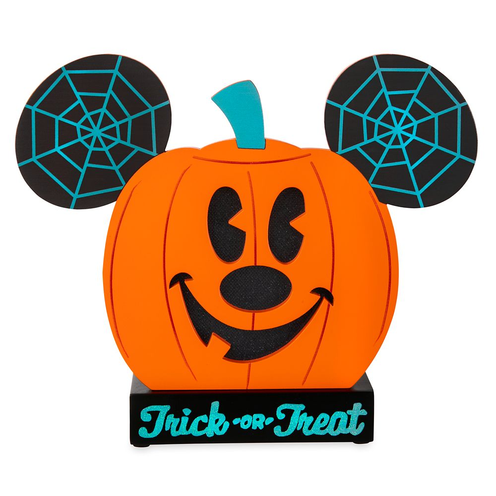 Mickey Mouse Light-Up Jack-o'-Lantern Figure