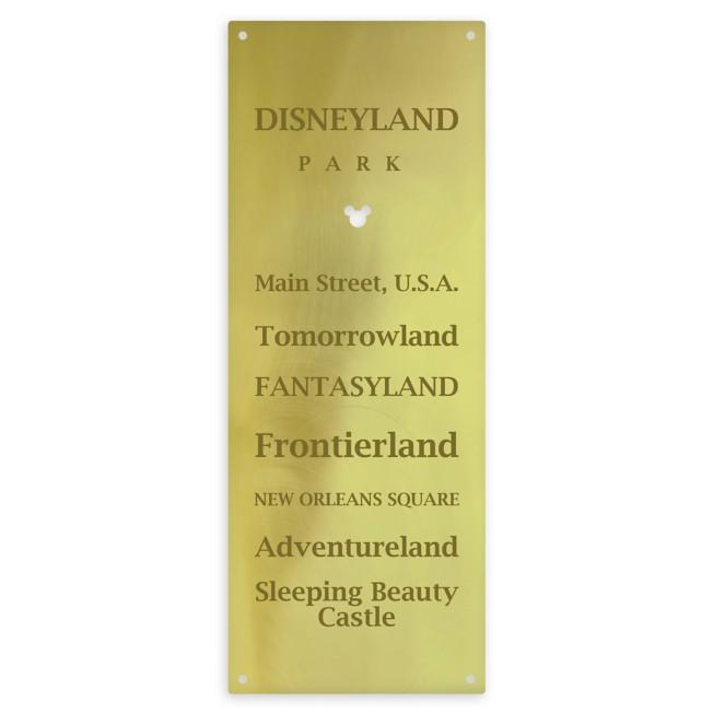 Disneyland Metal Sign