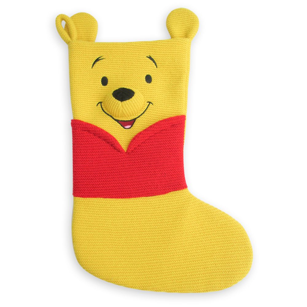 Winnie the Pooh Knit Holiday Stocking