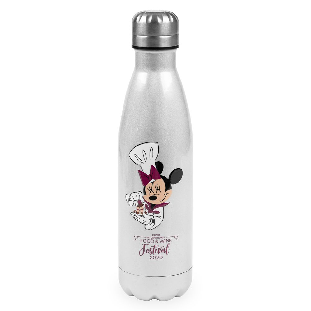 Minnie Mouse Water Bottle – Epcot International Food & Wine Festival 25th Anniversary