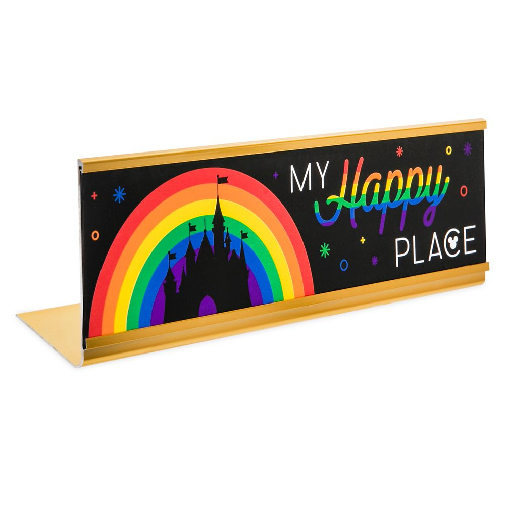 Rainbow Disney Collection Desk Plate