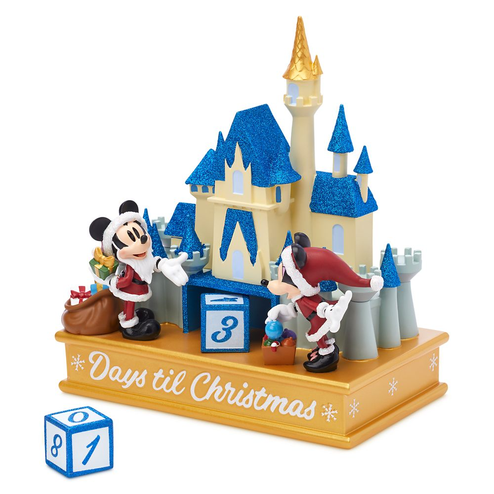 Mickey and Minnie Mouse Christmas Countdown Calendar