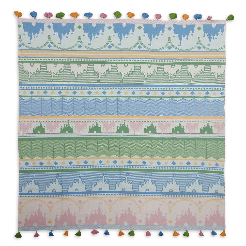 Fantasyland Castle Knit Throw Blanket