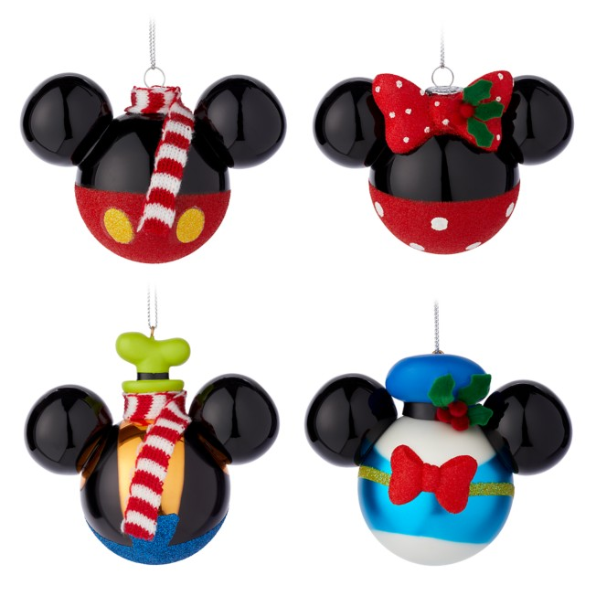 Mickey Mouse and Friends Ornament Set   shopDisney