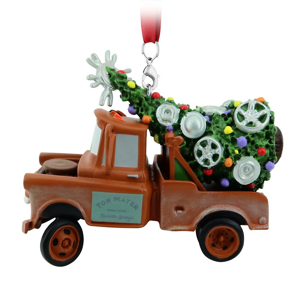 Tow Mater Figural Ornament – Cars