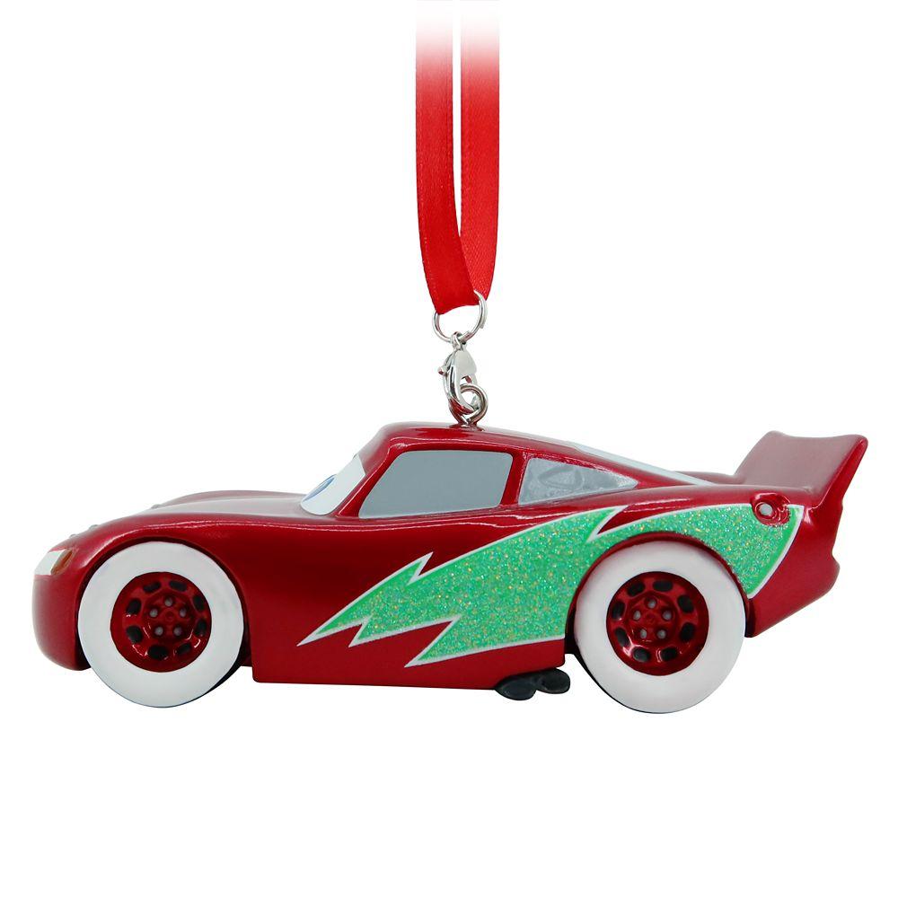 Lightning McQueen Figural Ornament – Cars