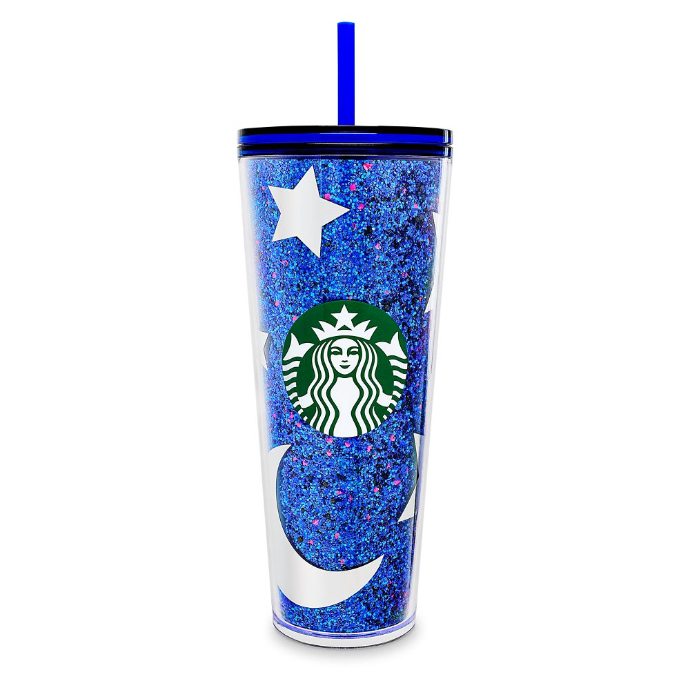 Mickey Mouse Tumbler with Straw by Starbucks – Walt Disney World – Wishes Come True Blue