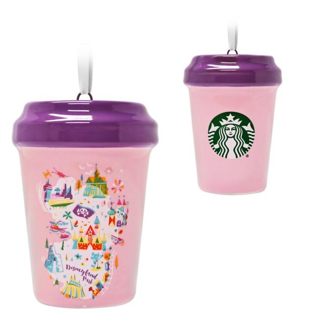 Disneyland Park Starbucks Cup Ornament