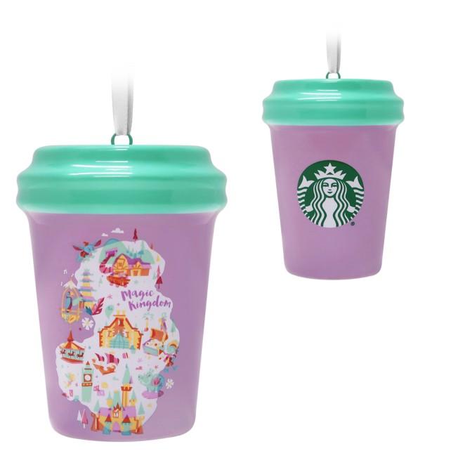 Magic Kingdom Starbucks Cup Ornament