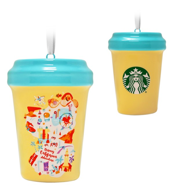 Disney California Adventure Starbucks Cup Ornament