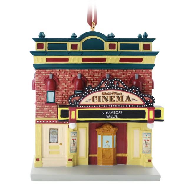 Main Street Cinema Holiday Ornament – Disneyland