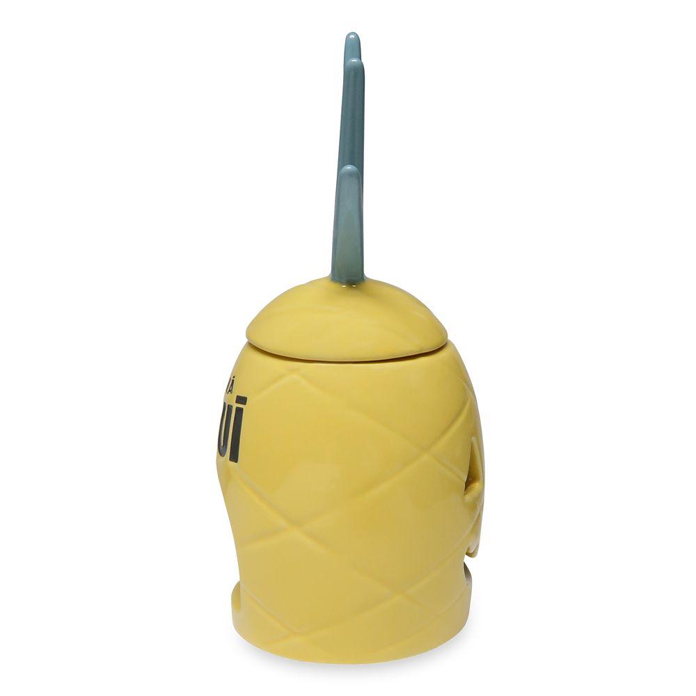 Pineapple Jack-o'-Lantern Candle Holder –Aulani, A Disney Resort & Spa