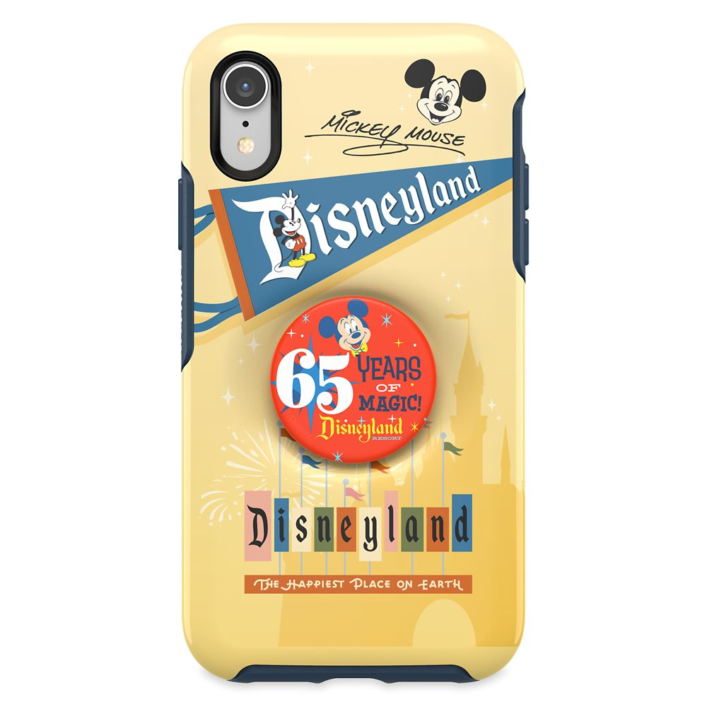 Disneyland 65th Anniversary iPhone XR Case with PopSocket by OtterBox