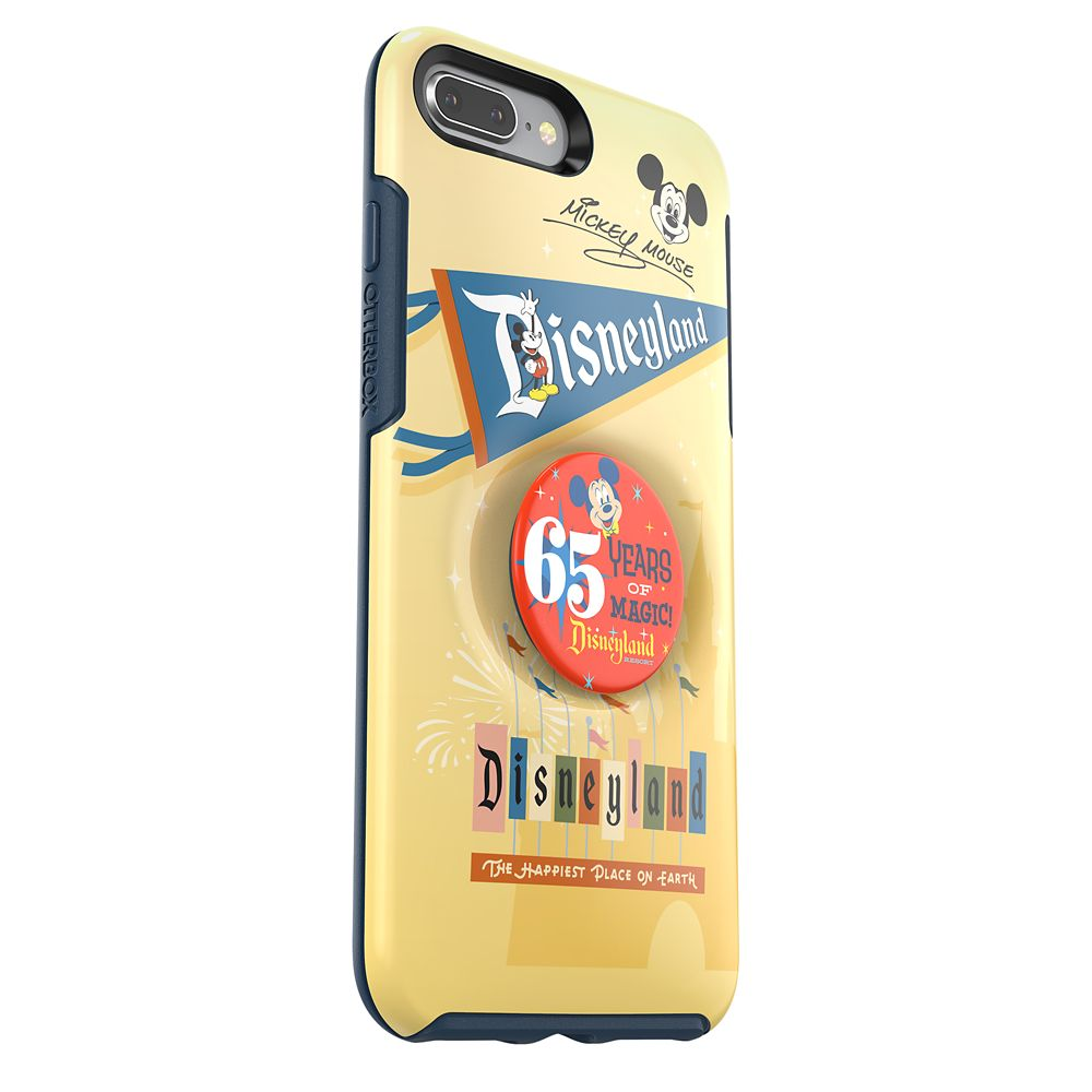 Disneyland 65th Anniversary iPhone 8 Plus/7 Plus Case with PopSocket by OtterBox