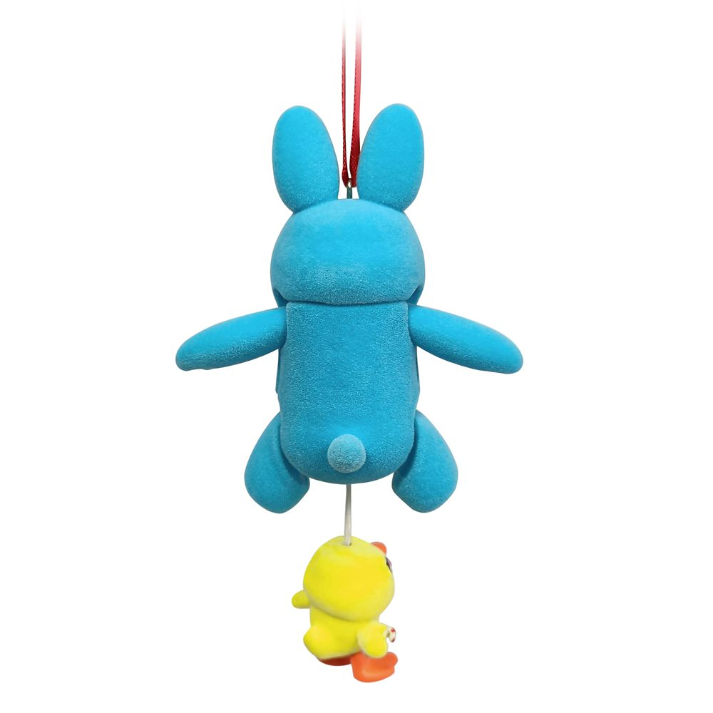 Ducky and Bunny Articulated Figural Ornament – Toy Story 4