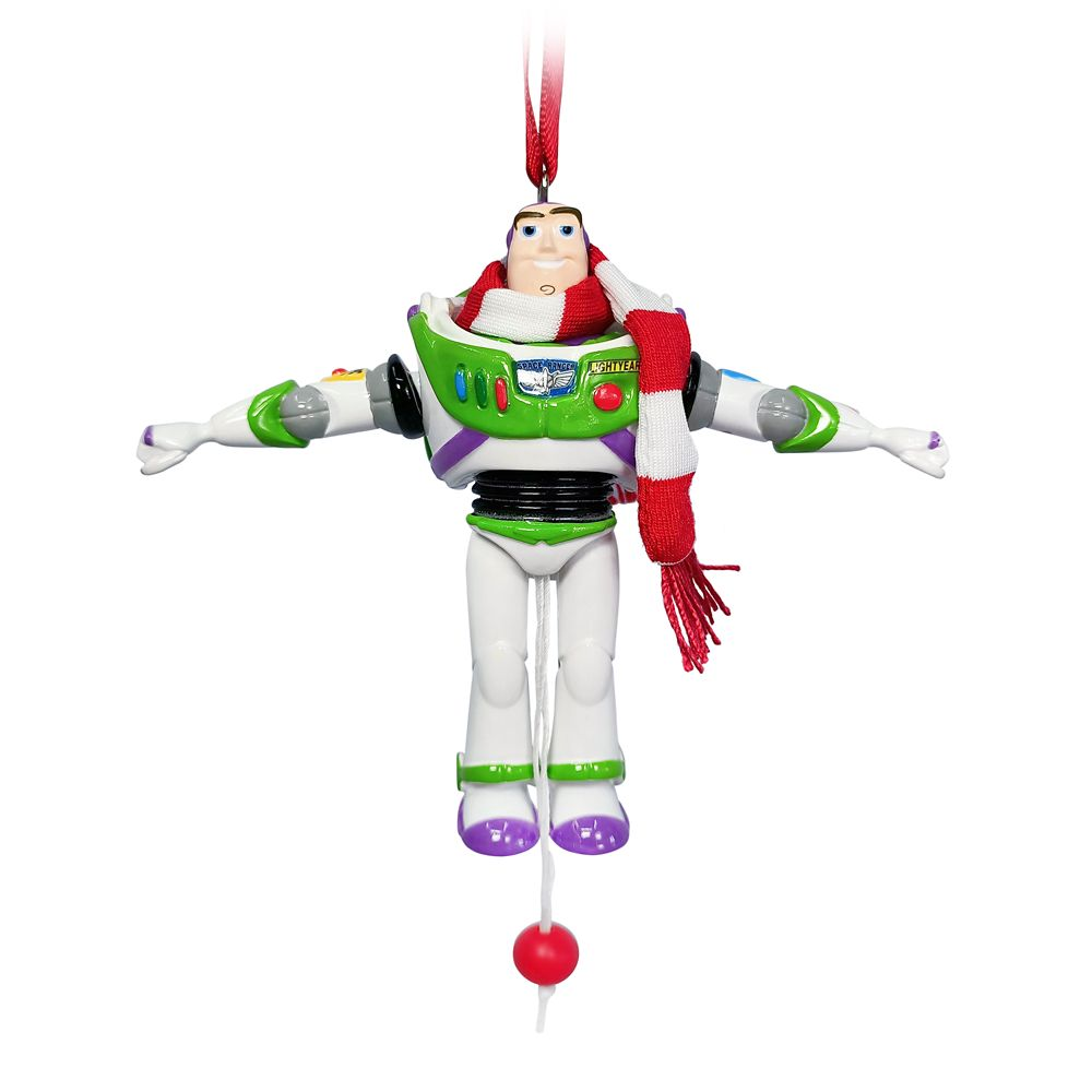 Buzz Lightyear Articulated Figural Ornament – Toy Story