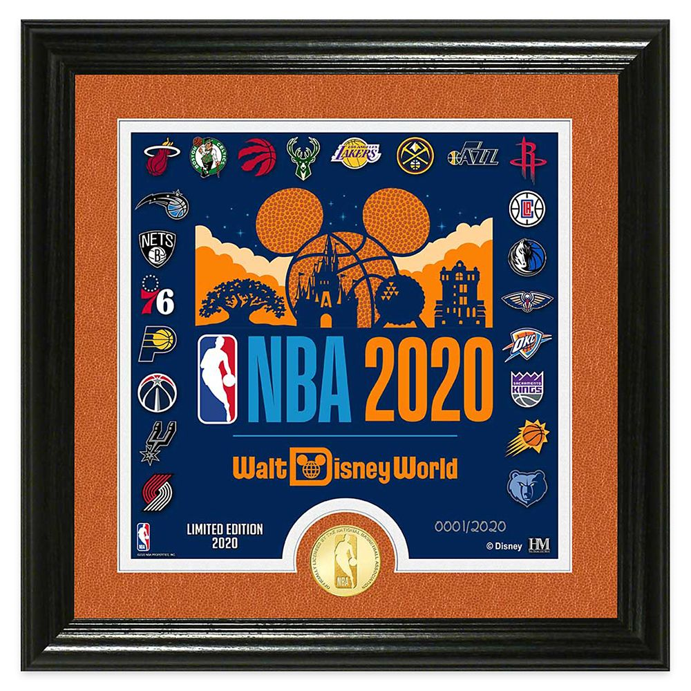 ''Make History'' Framed Lithograph with NBA Coin – Limited Edition