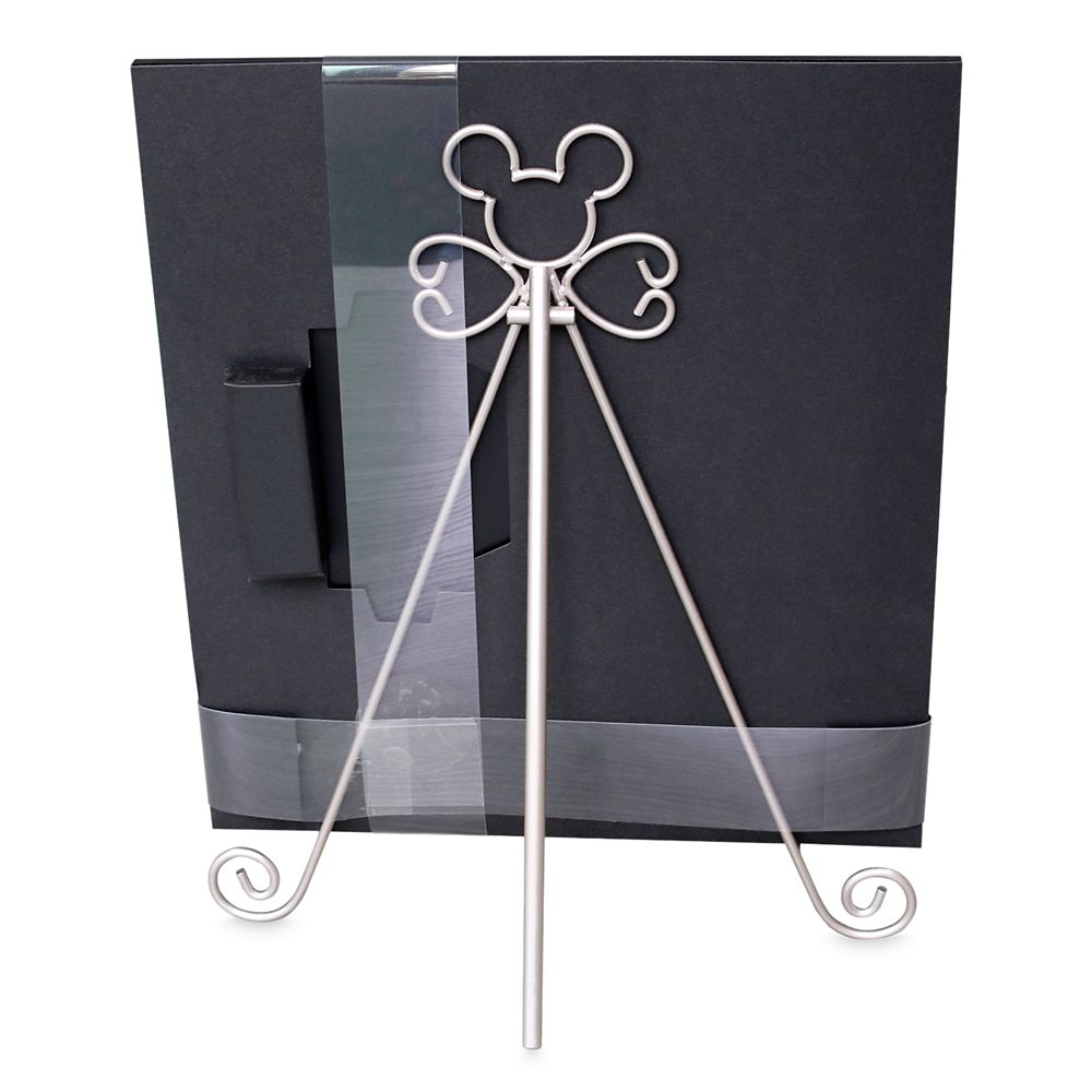 Mickey Mouse Icon Chalkboard Sign and Easel Set