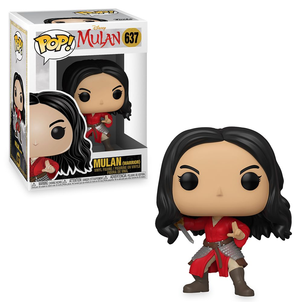 Mulan (Warrior) Funko Pop! Vinyl Figure – Live Action Film