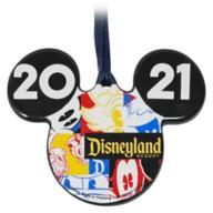 Mickey Mouse Icon Ceramic Ornament – Disneyland 2021