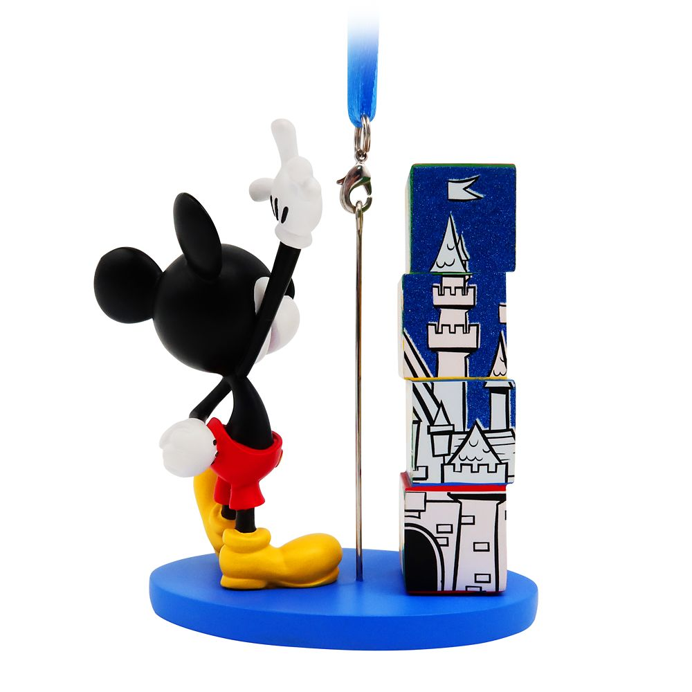 Mickey Mouse Figural Ornament – Disneyland 2021