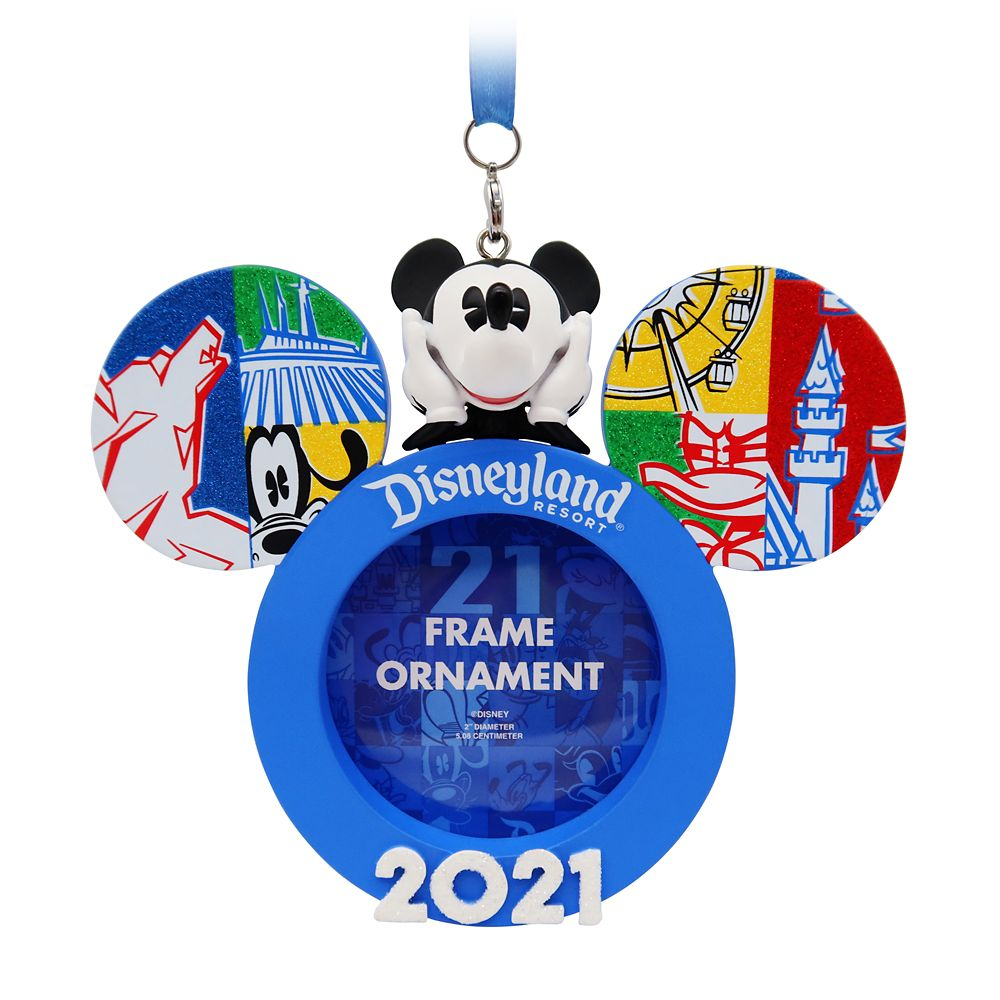 Mickey Mouse Frame Ornament – Disneyland 2021